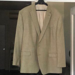 Ralph Lauren 52R houndstooth blazer. Barely used